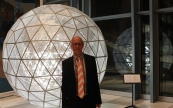 "Opening of Ray Bartkus' installation ""The Globe"""