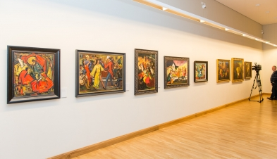 Lewben ART: The exhibition Jonas Rimša (1903–1978). The Magic of Fire and Jungle
