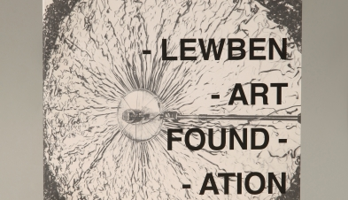 Lewben Art Foundation — cover of the catalogue