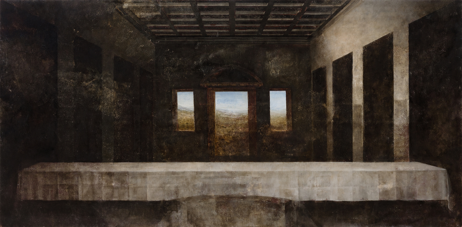 Lewben Art Foundation (Lithuania)Patricija Jurkšaitytė. Leonardo da Vinci. The Last Supper, 2014